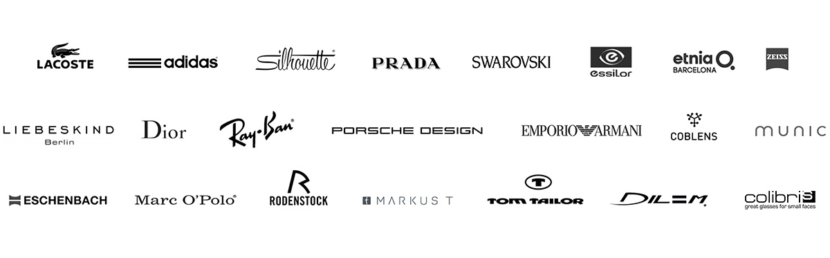 Optik Weber - Sehen : LACOSTE, adidas, Silhouette, PRADA, SWAROVSKI, essilor, etnia O., Dior, Ray Ban, PORSCHE DESIGN, EMPORIO ARMANI, MUNICEYEWEAR, ZEISS, ESCHENBACH, Marc O'Polo, RODENSTOCK, MARKUST, TOM TAILOR, DILEM